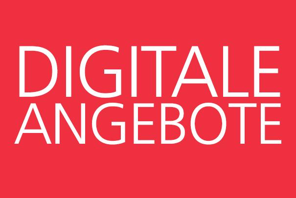 Digitale Angebote: Informationen über E-Books, Datenbanken, Scanservice und weiteren digitalen Serviceangeboten der Bibliothek.