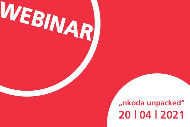 """Webinar """"nkoda unpacked"""" am 20. April 2021"""