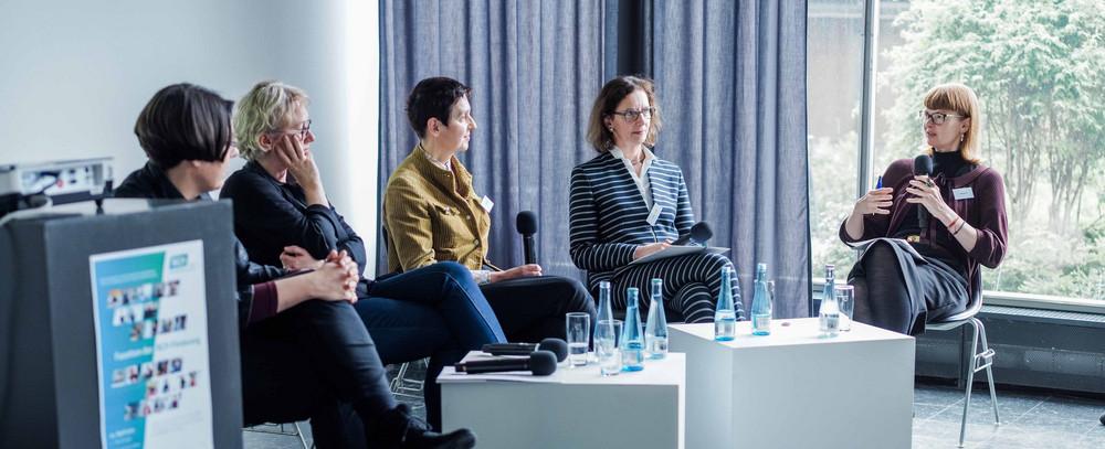 """Podiumsdiskussion """"Kunst wider die Marginalisierung"""""""
