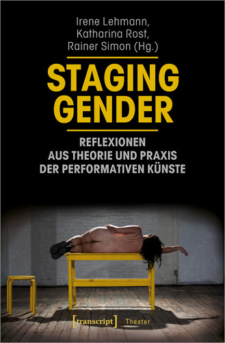 """Book cover of """"Staging Gender"""""""