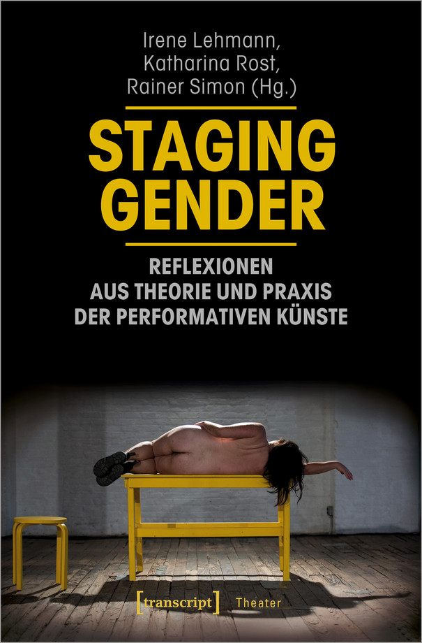 "Book cover of ""Staging Gender"""