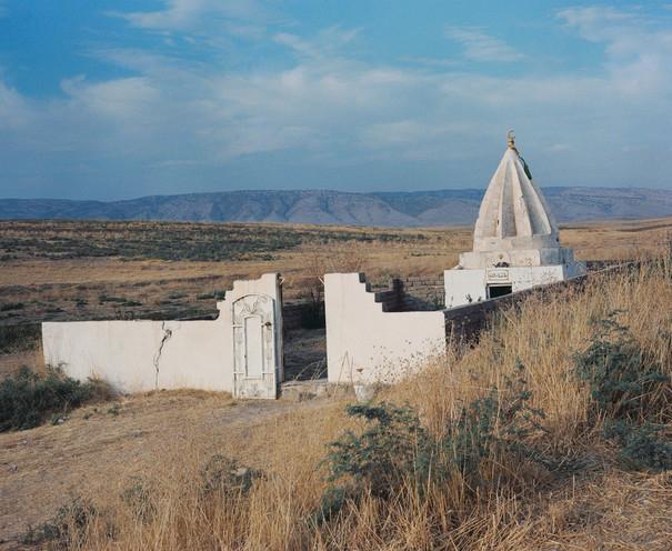 Landschaftsfotografie mit religiöser Stätte
