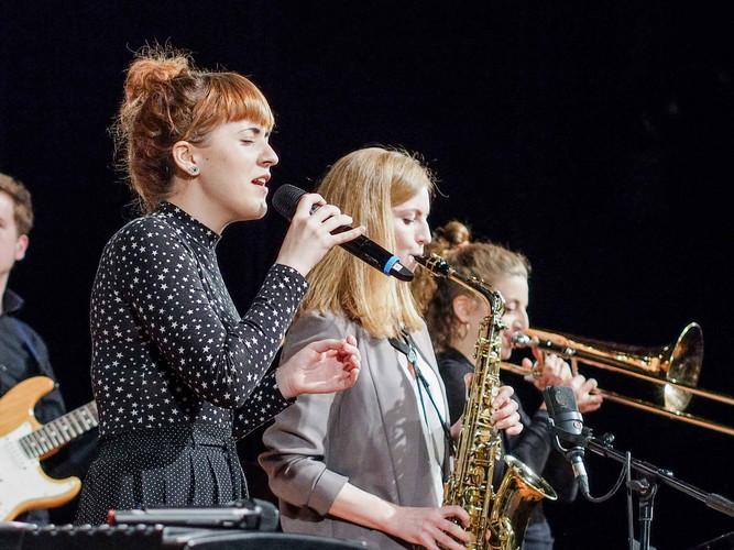 Olga Amelchenko (Saxophon)