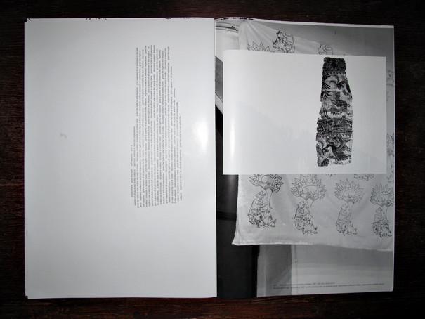 Abbildung einer Doppelseite mit Text neben Strukturen sowie gezeichneter Flora und Fauna.