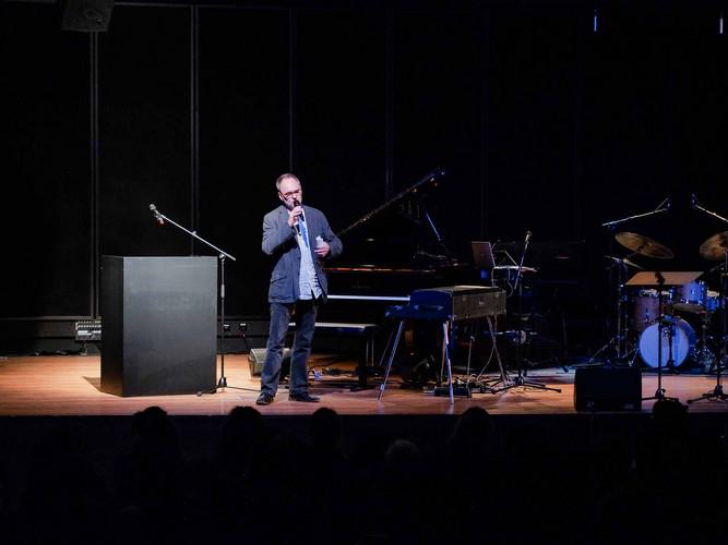 Moderator Ulf Drechsel, Jazzredakteur beim rbb