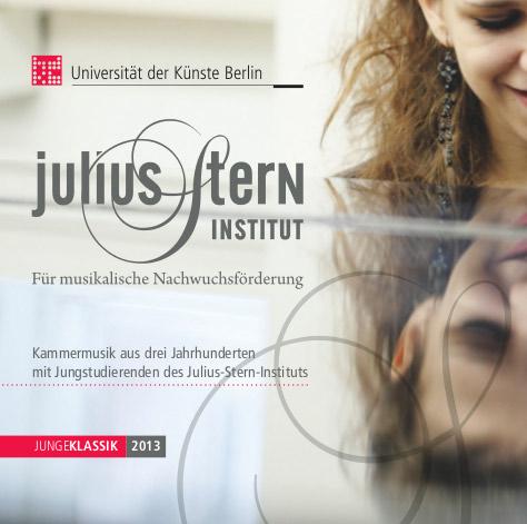Cover einer CD des Julius-Stern-Instituts
