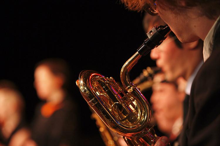 Großaufnahme Saxophon