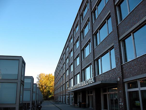 Gebäude der Universitätsbibliothek