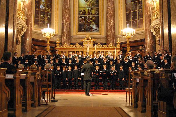 Konzert des Staats- und Domchors im Berliner Dom