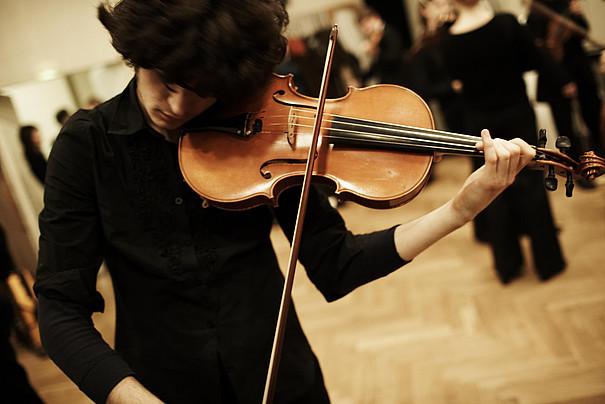 Eine Viola.