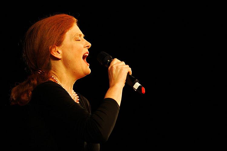 Profil einer Sängerin